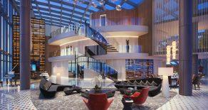 Предлагаем к продаже трехуровневый пентхаус под стеклянным куполом (95-97 этажах Башни Федерация)