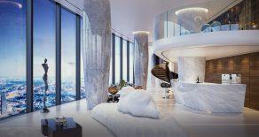 Платиновые апартаменты в Башне Федерация. Выше, чем de luxe.