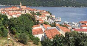 Продается вилла на берегу Адриатического моря  (Хорватия, Ломбарда, о. Корчула, 30 км от Дубровника)